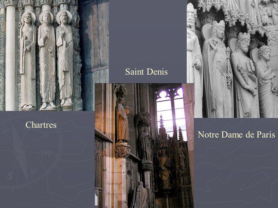 Saint Denis Chartres Notre Dame de Paris