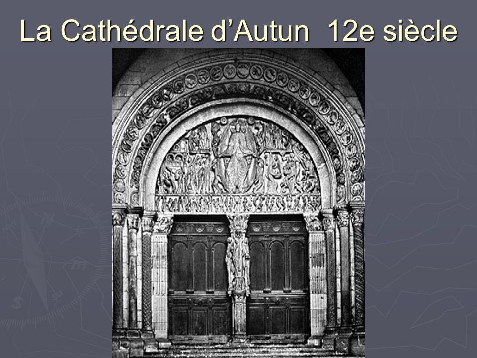 La Cathédrale d'Autun 12e siècle