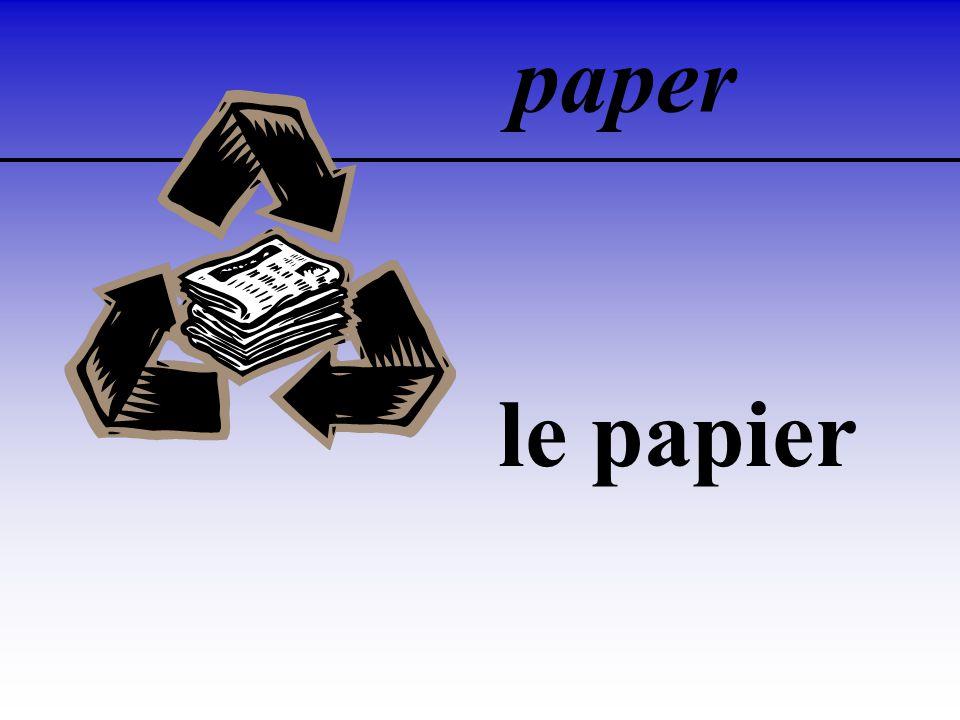 paper le papier