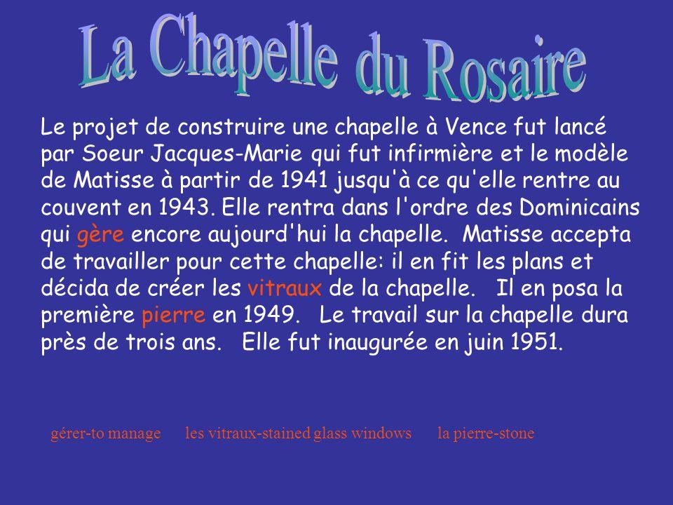 La Chapelle du Rosaire