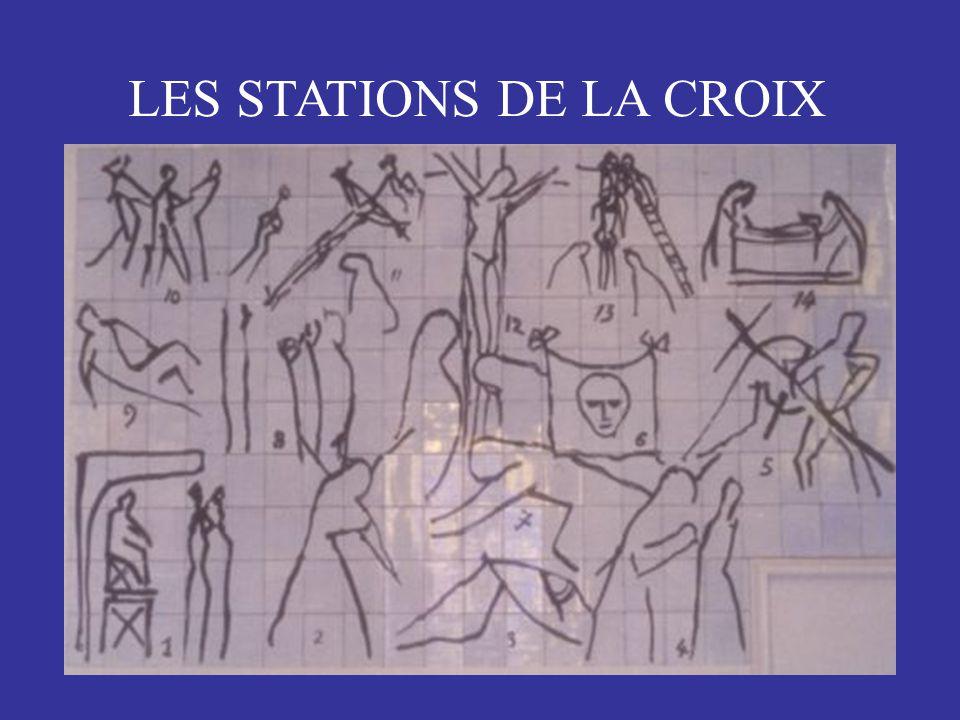 LES STATIONS DE LA CROIX
