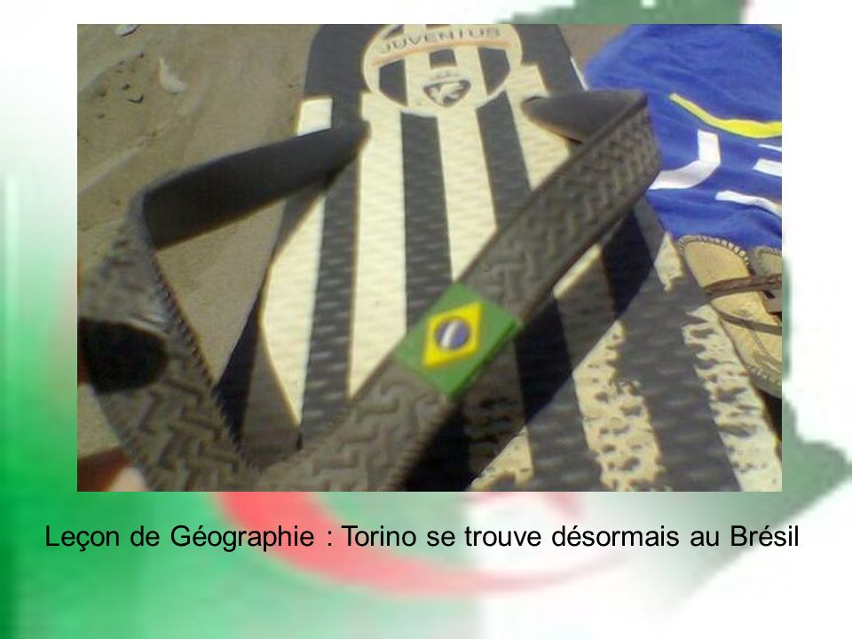 Leçon de Géographie : Torino se trouve désormais au Brésil