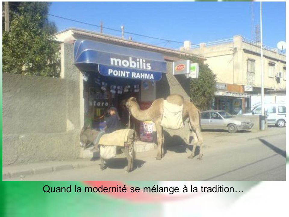 Quand la modernité se mélange à la tradition…