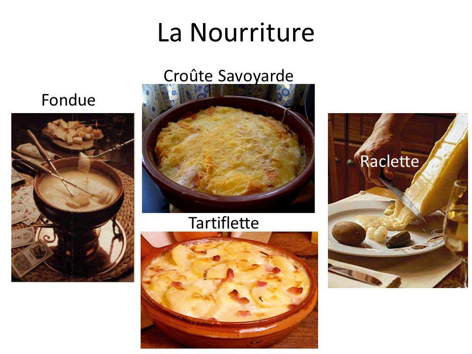 La Nourriture Croûte Savoyarde Fondue Raclette Tartiflette
