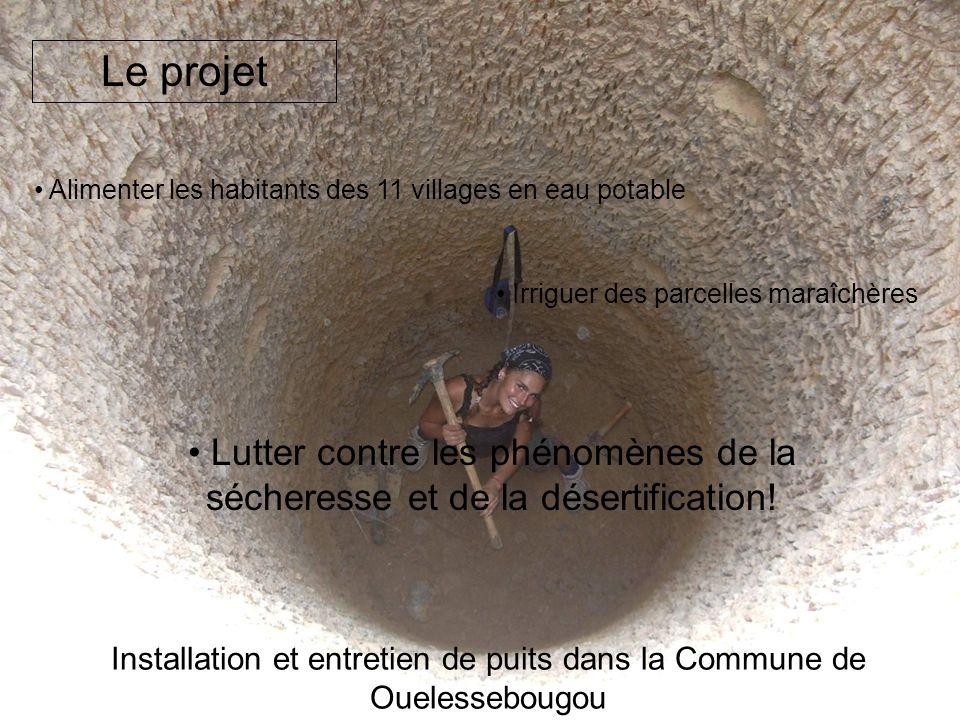 Installation et entretien de puits dans la Commune de Ouelessebougou