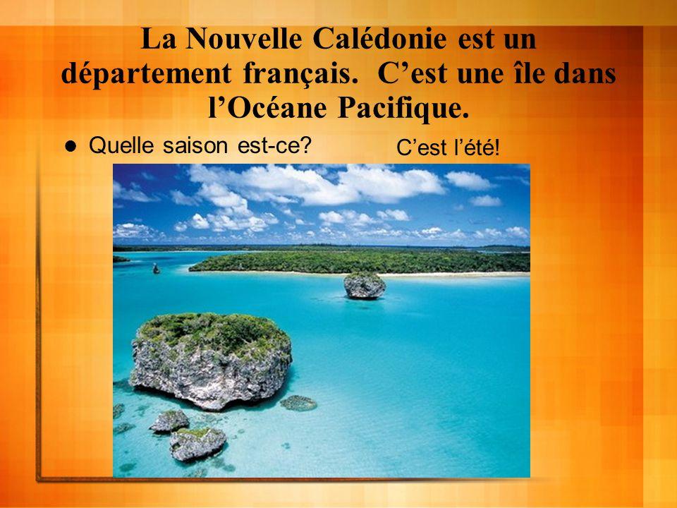 La Nouvelle Calédonie est un département français