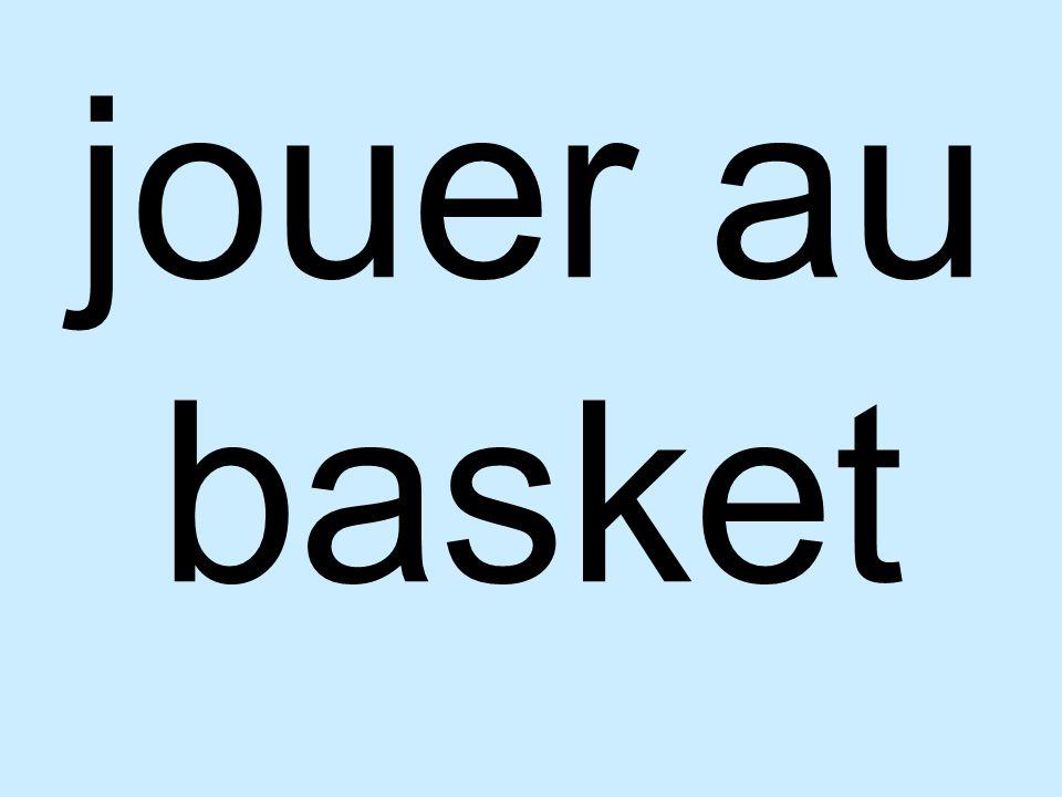 jouer au basket