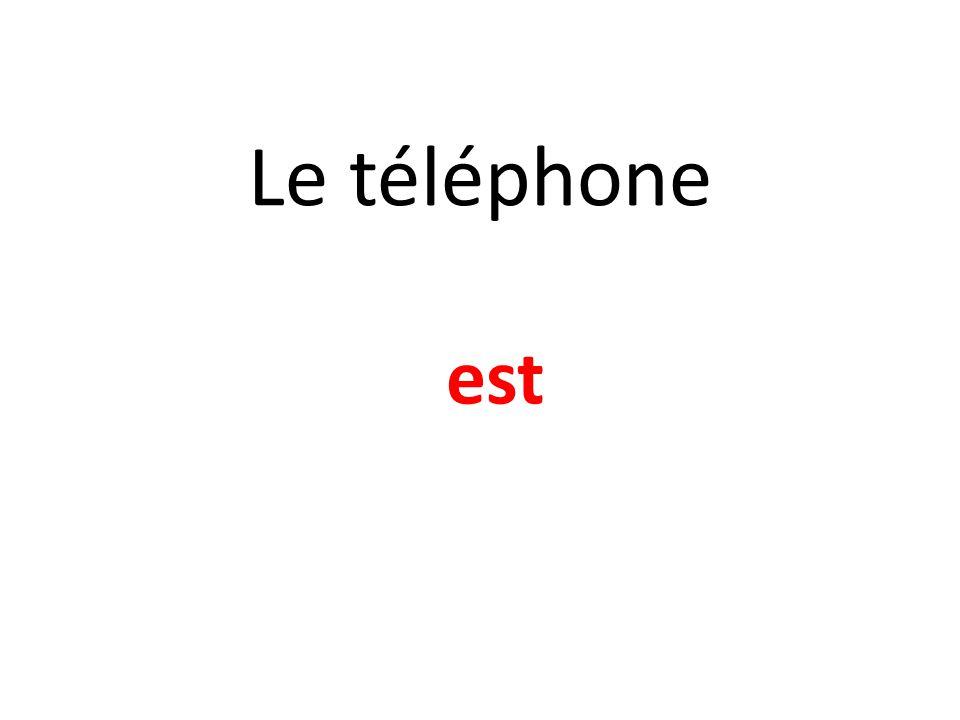 Le téléphone est