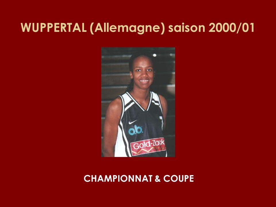 WUPPERTAL (Allemagne) saison 2000/01