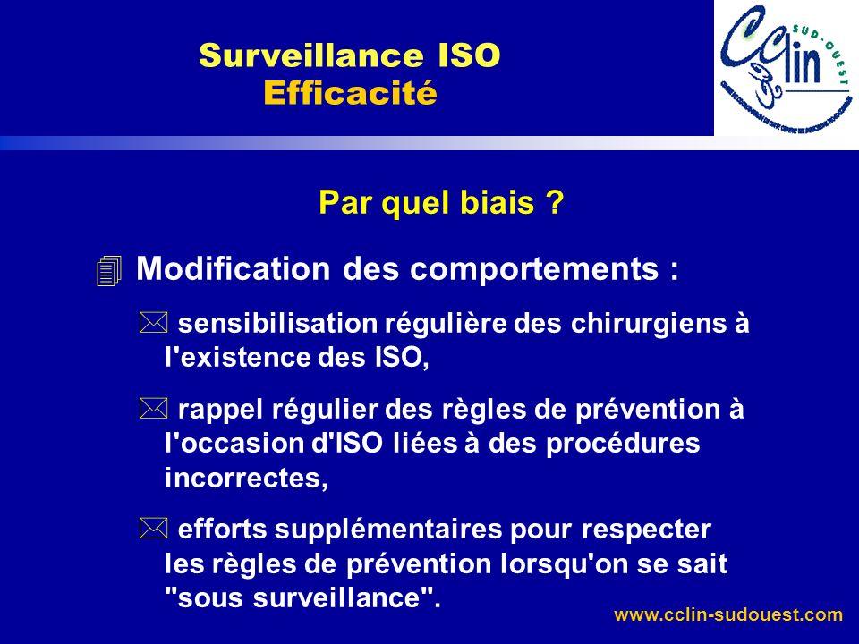 Surveillance ISO Efficacité