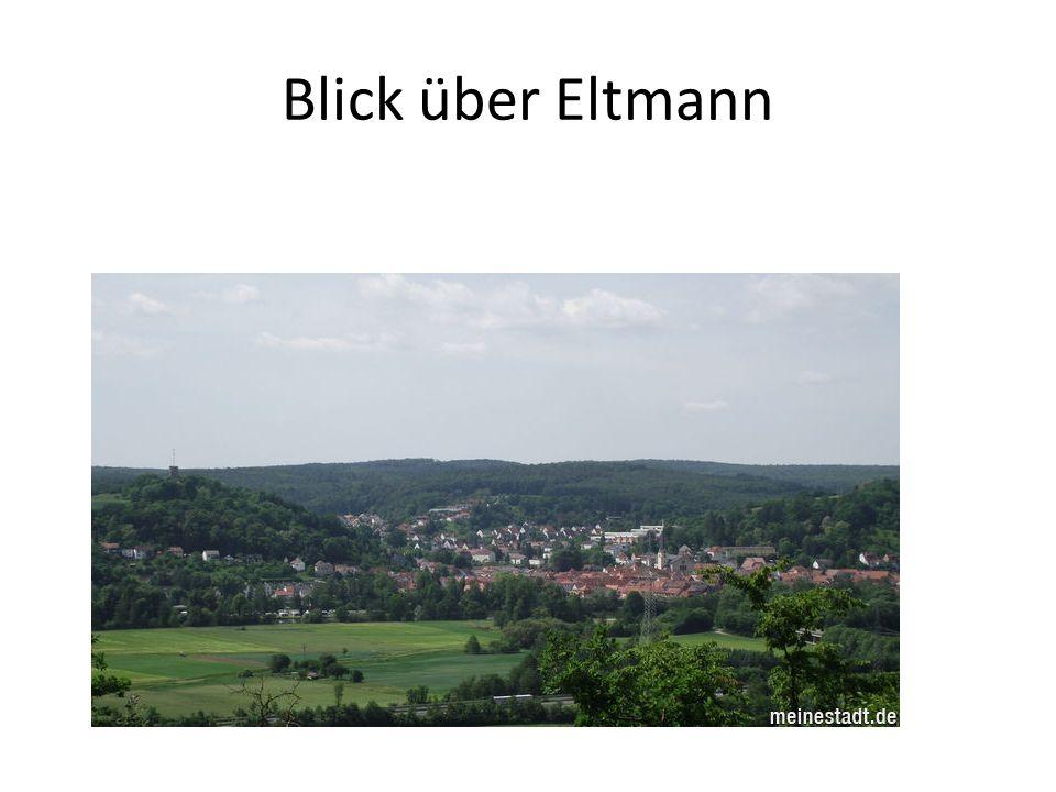 Blick über Eltmann