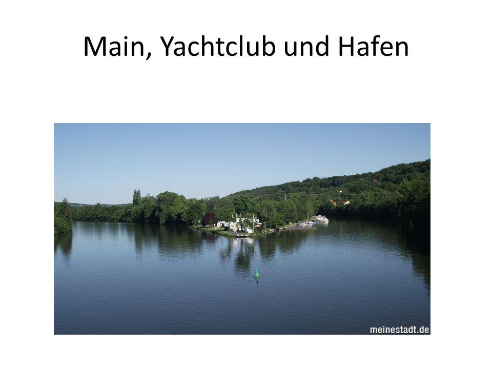 Main, Yachtclub und Hafen