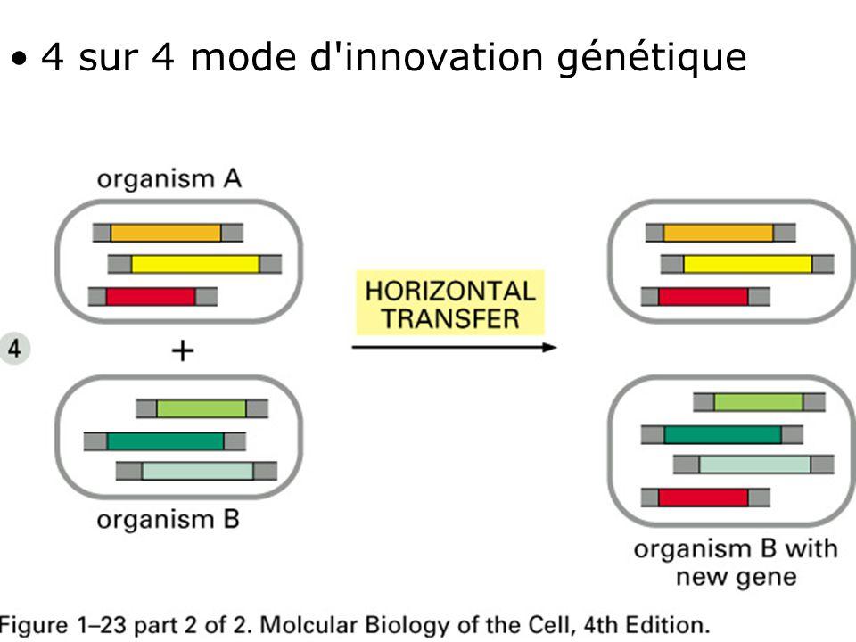 4 sur 4 mode d innovation génétique