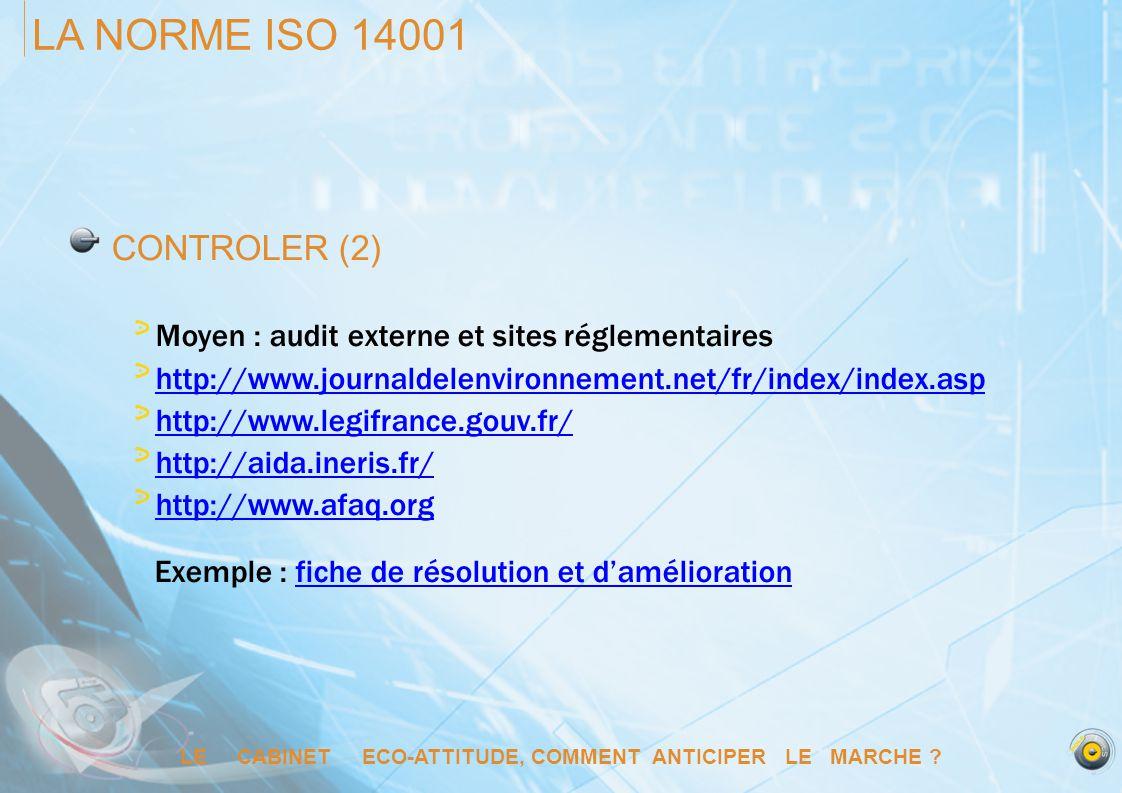 LE CABINET ECO-ATTITUDE, COMMENT ANTICIPER LE MARCHE