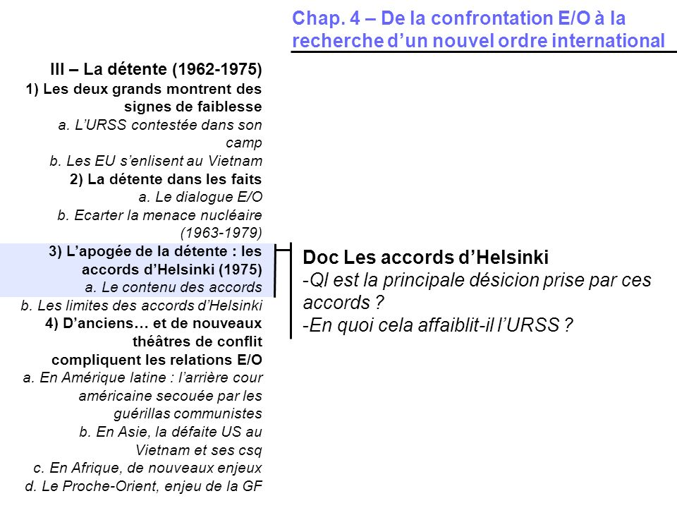 Doc Les accords d'Helsinki