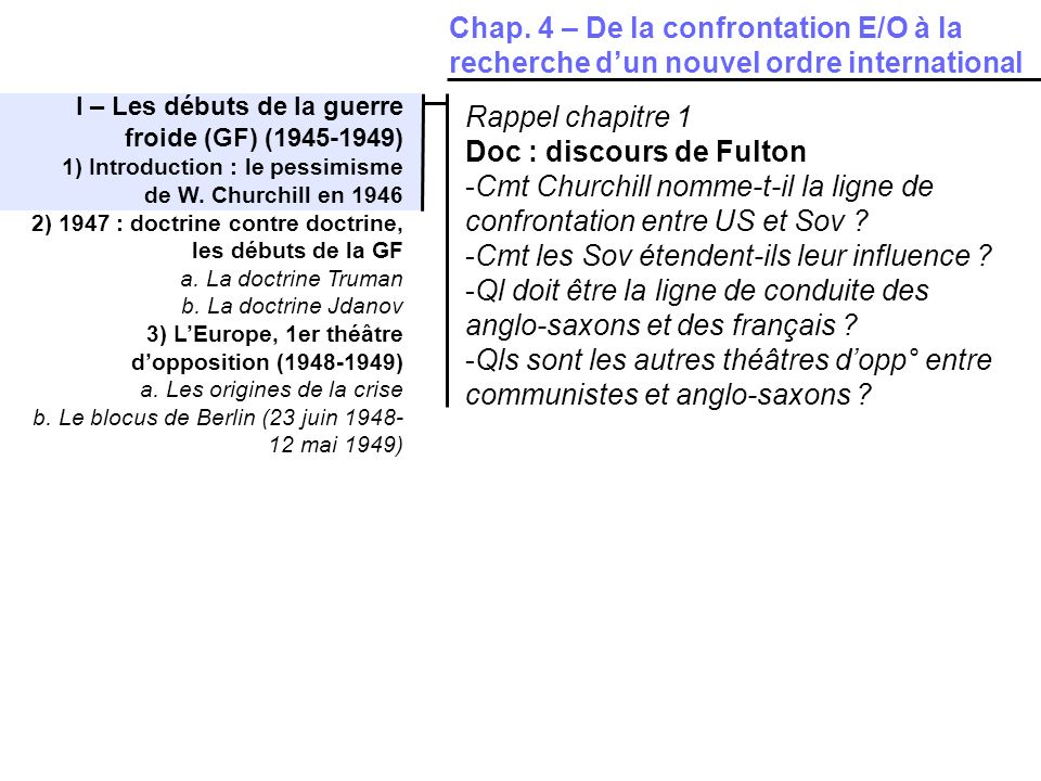 Doc : discours de Fulton