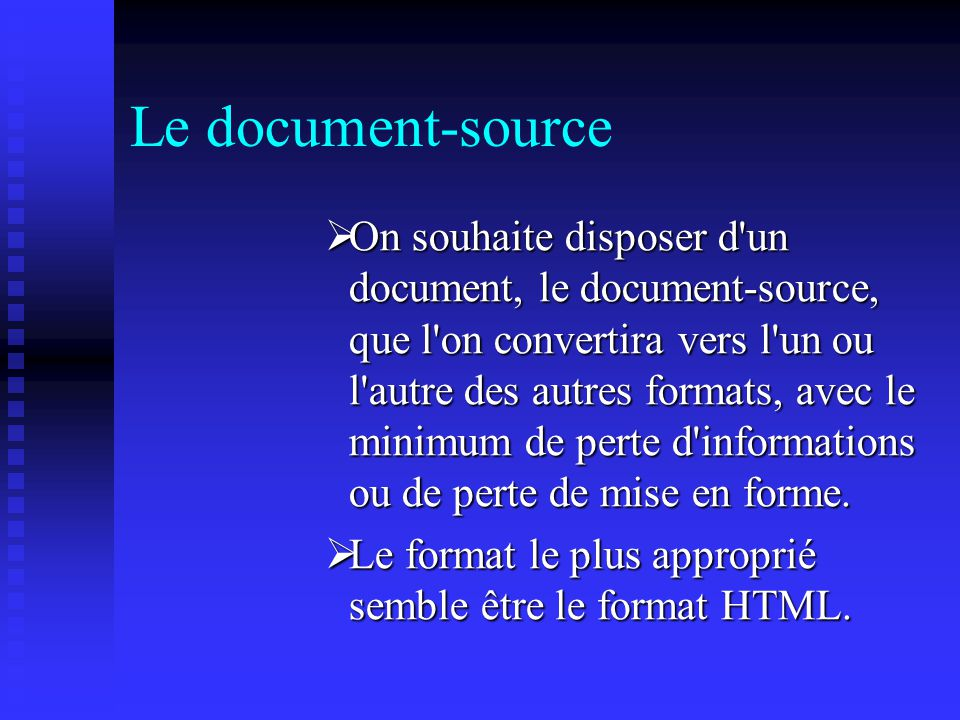 Le document-source