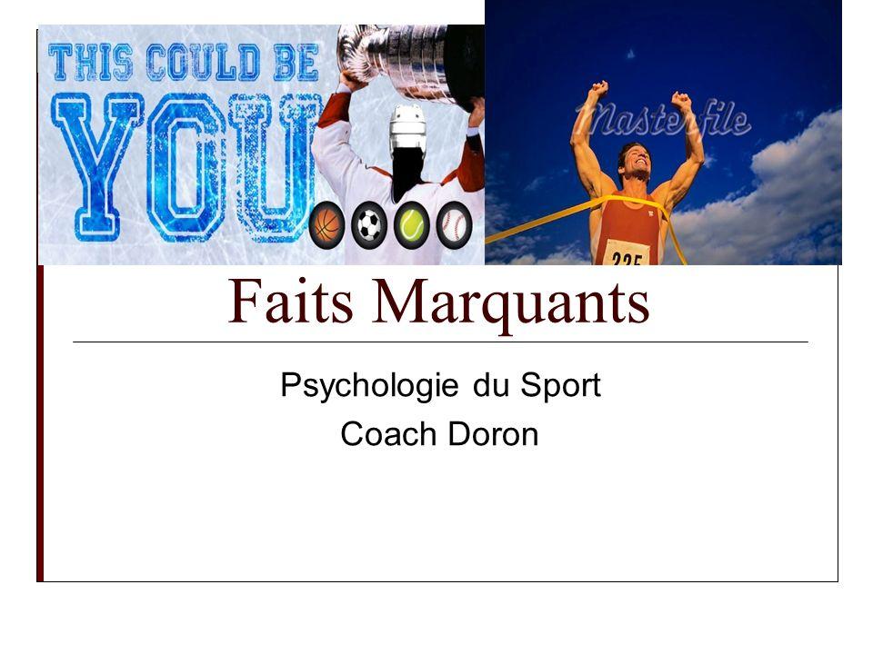 Psychologie du Sport Coach Doron