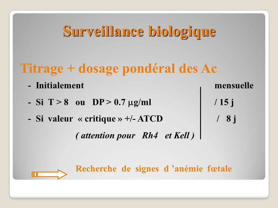Surveillance biologique