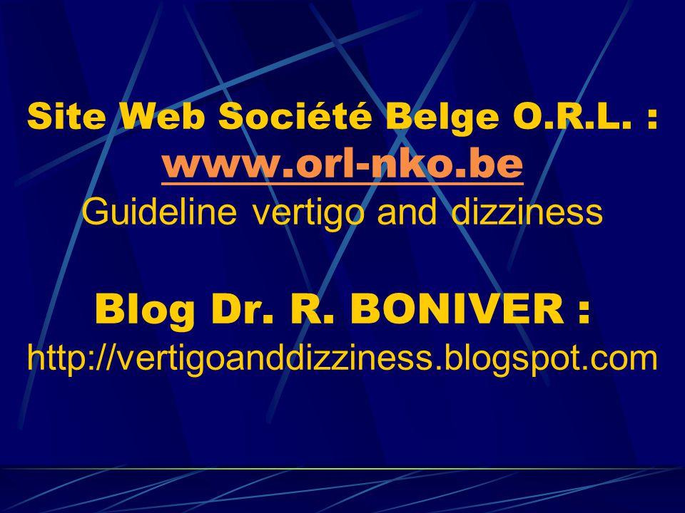 Site Web Société Belge O. R. L. : www. orl-nko