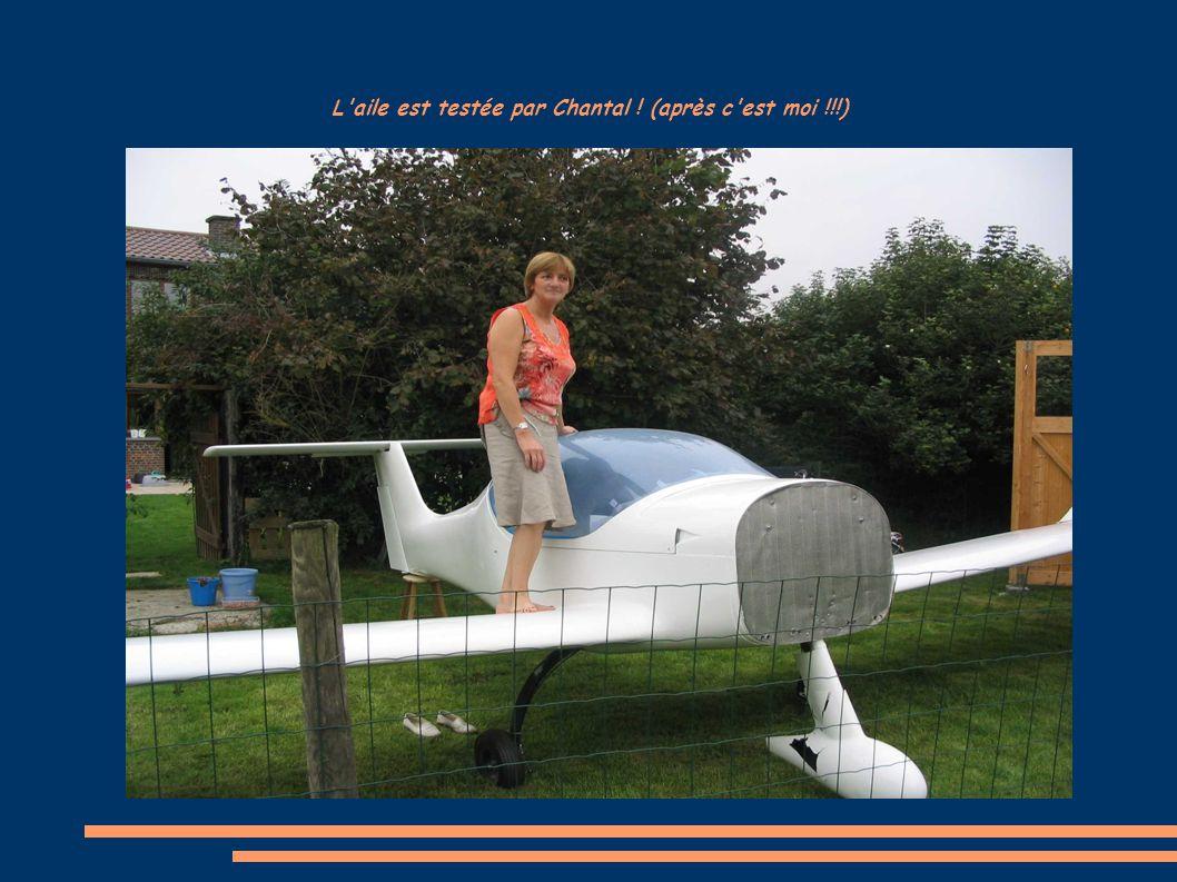 L aile est testée par Chantal ! (après c est moi !!!)