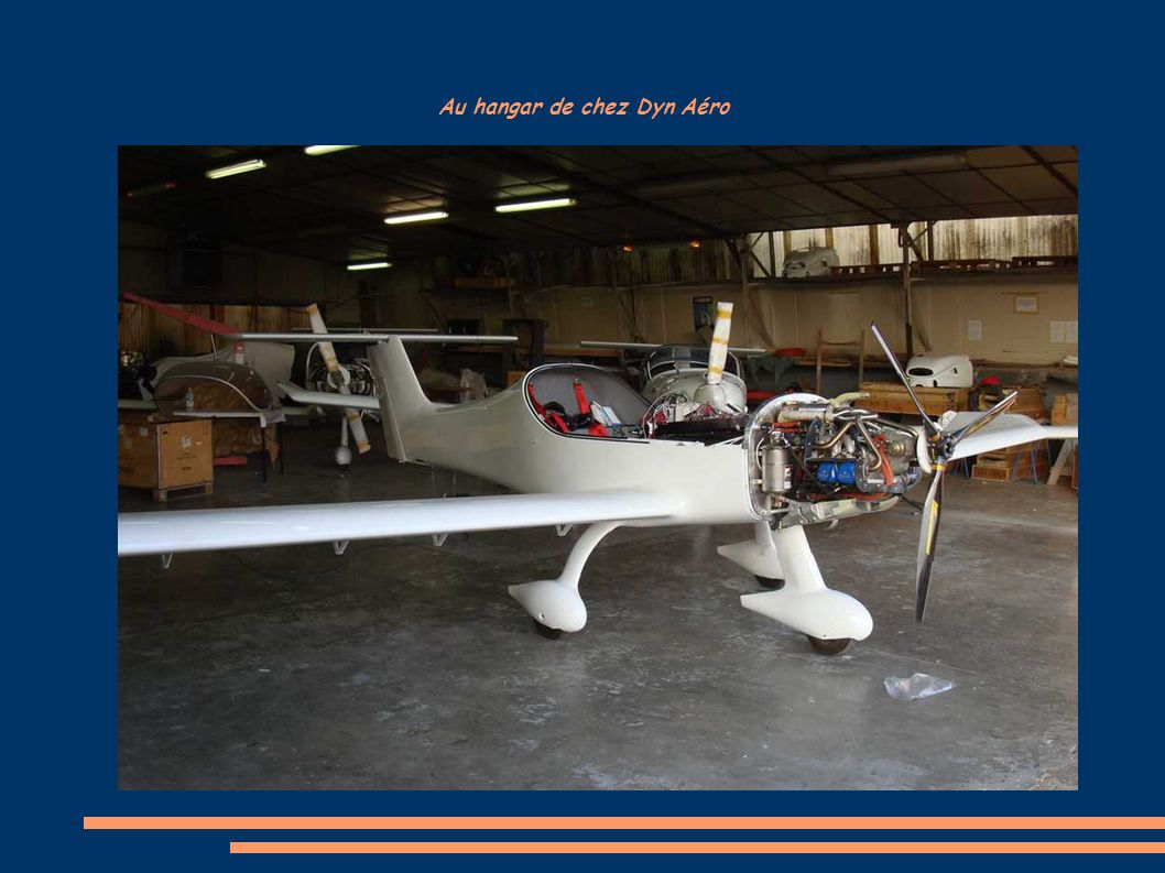 Au hangar de chez Dyn Aéro