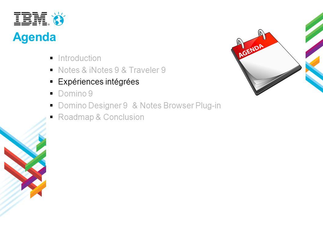Agenda Introduction Notes & iNotes 9 & Traveler 9