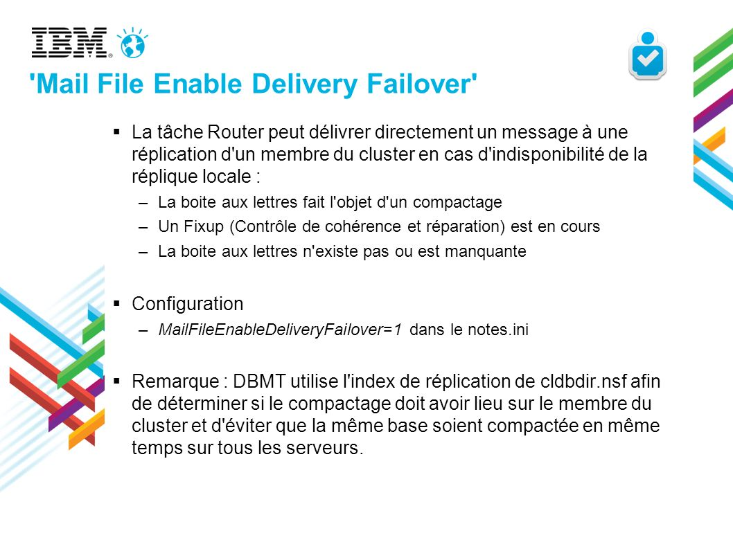 Mail File Enable Delivery Failover
