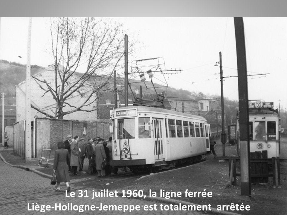 Le 31 juillet 1960, la ligne ferrée