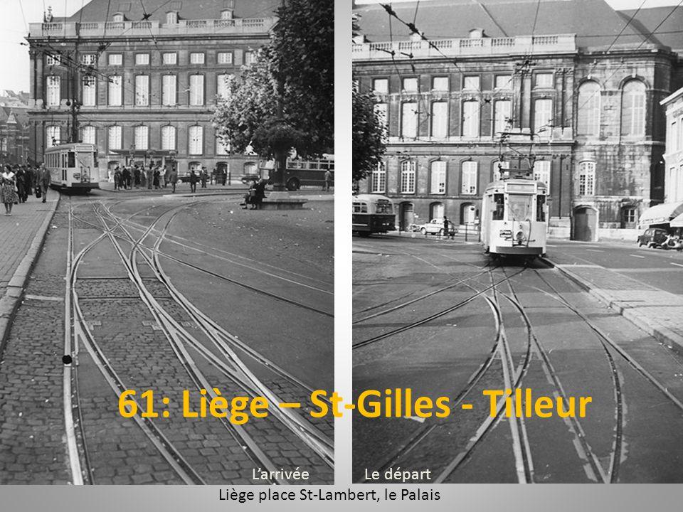 Liège place St-Lambert, le Palais