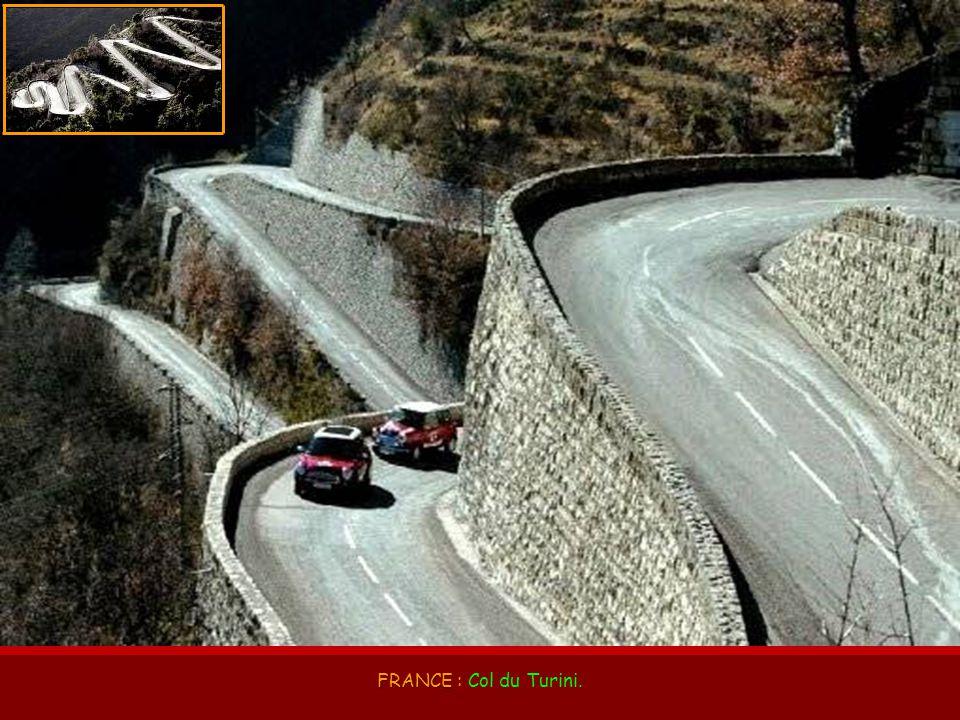 FRANCE : Col du Turini.