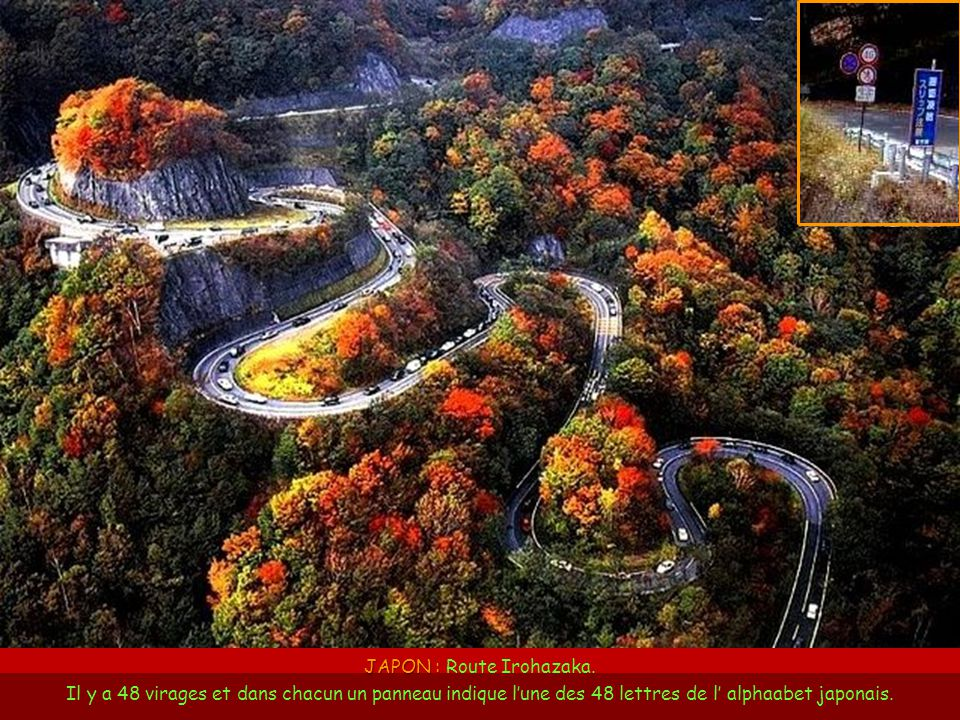 JAPON : Route Irohazaka
