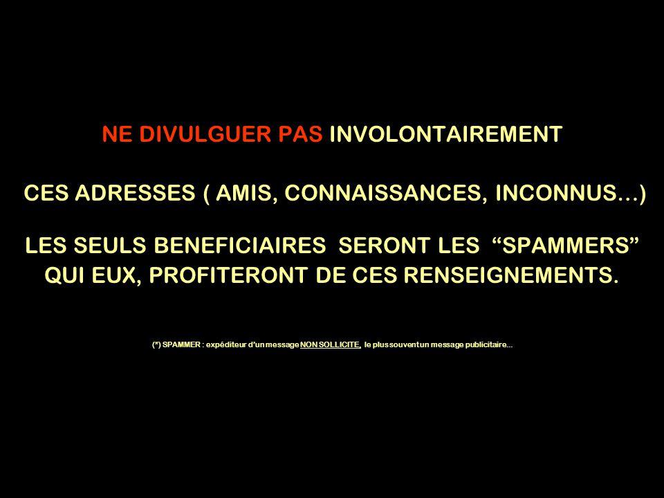 NE DIVULGUER PAS INVOLONTAIREMENT