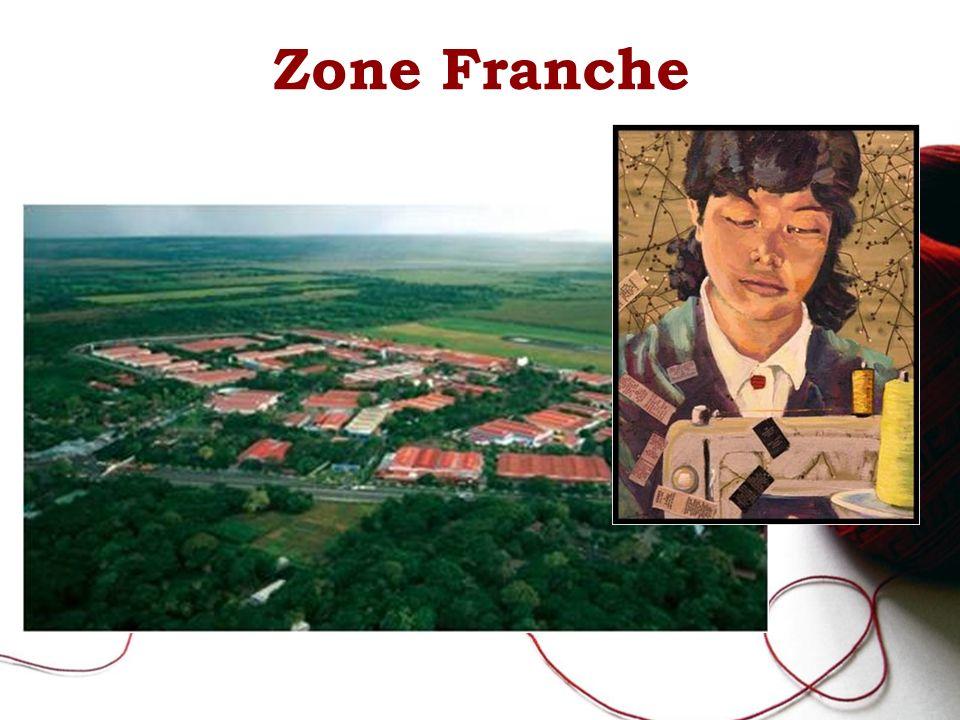 Zone Franche Photo: Zone franche du Nicaragua