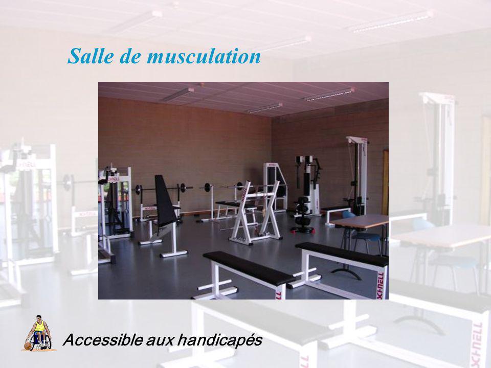 Salle de musculation Accessible aux handicapés