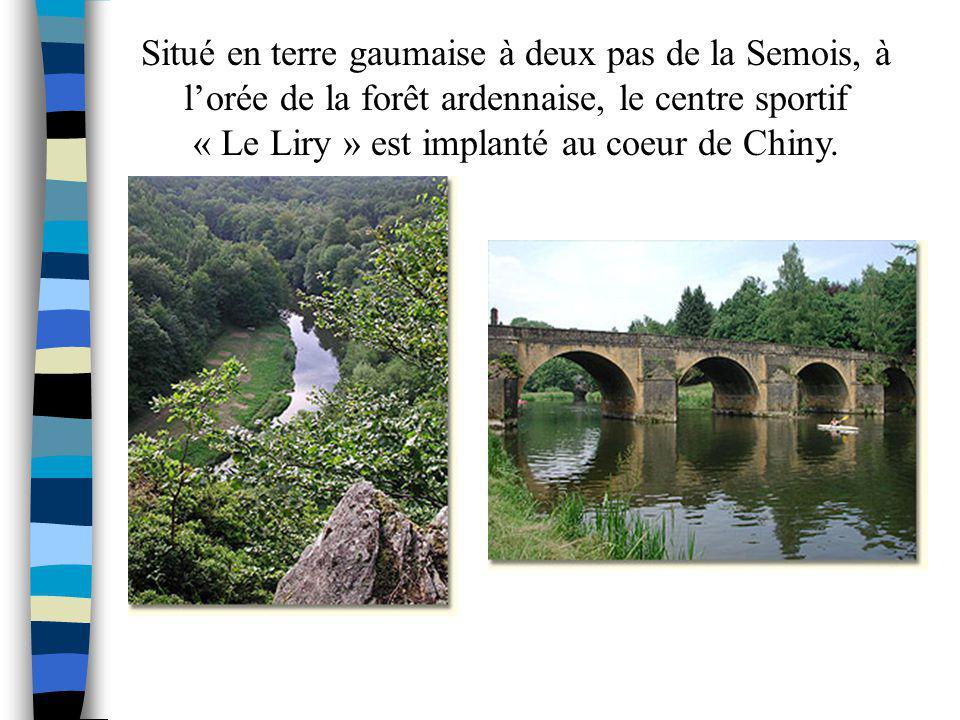 « Le Liry » est implanté au coeur de Chiny.