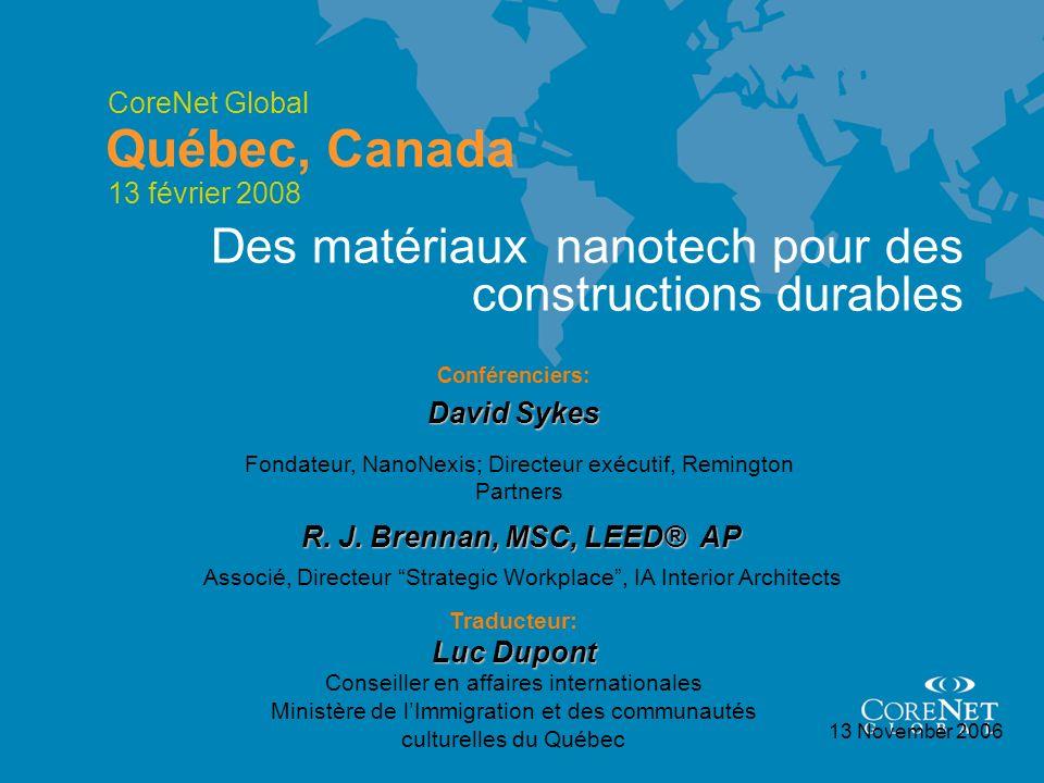 Des matériaux nanotech pour des constructions durables