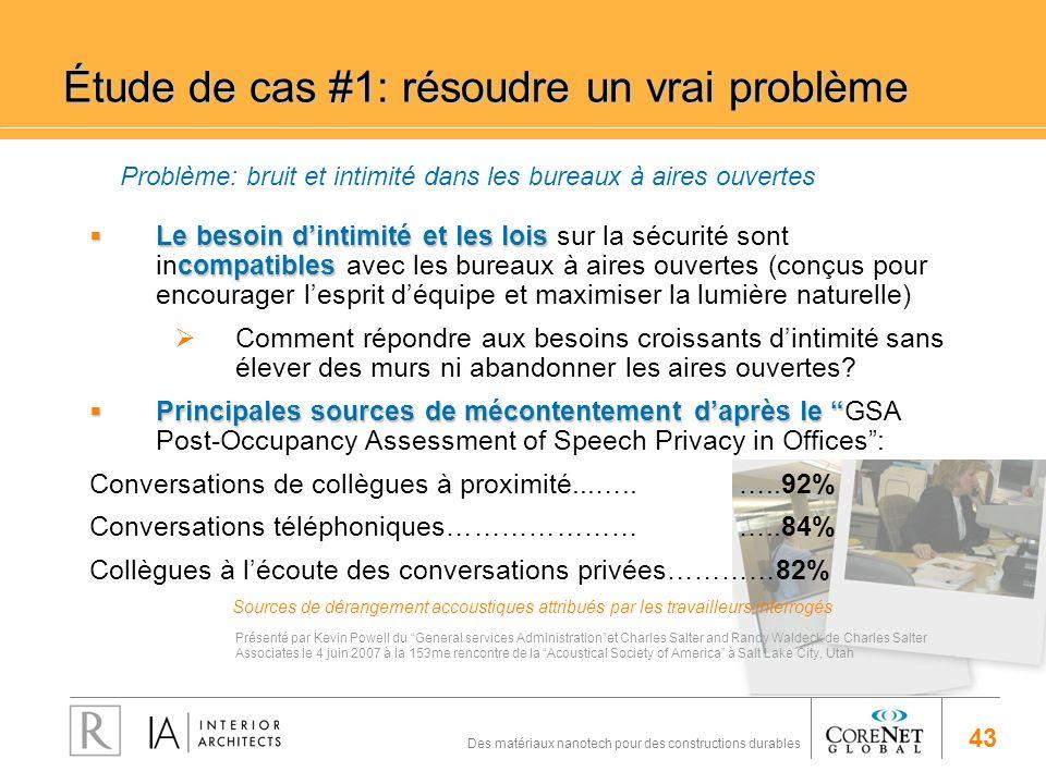 Étude de cas #1: résoudre un vrai problème