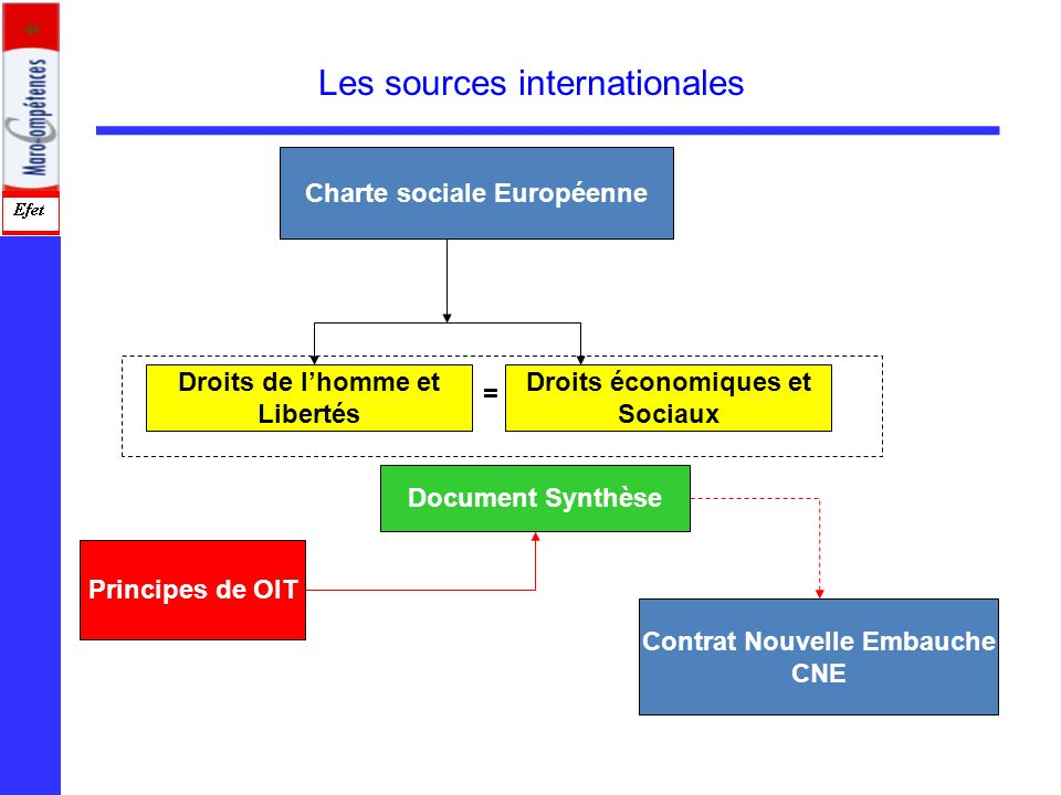 Charte sociale Européenne Contrat Nouvelle Embauche