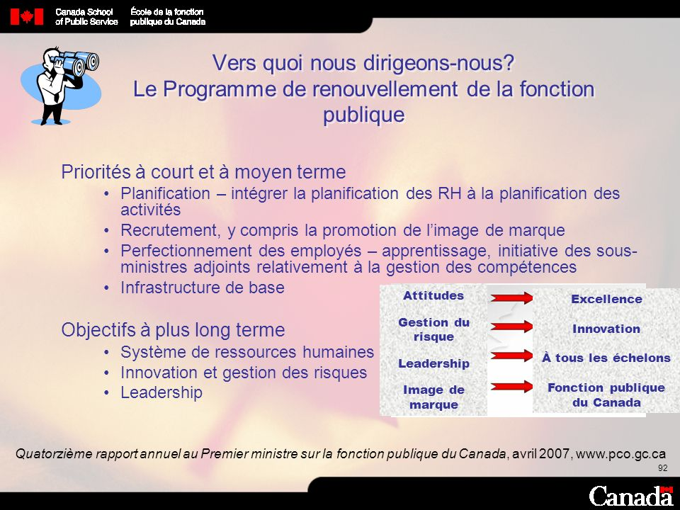 Fonction publique du Canada