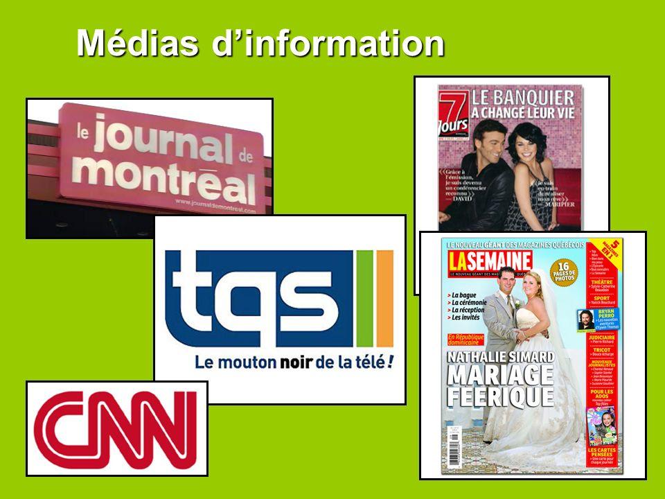 Médias d'information