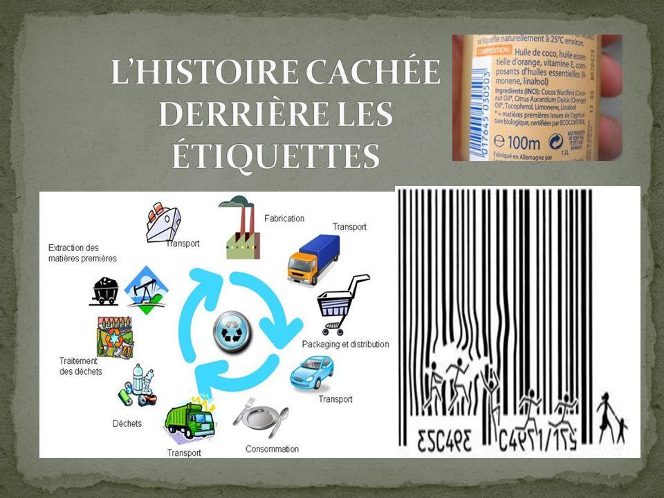 L'HISTOIRE CACHÉE DERRIÈRE LES ÉTIQUETTES