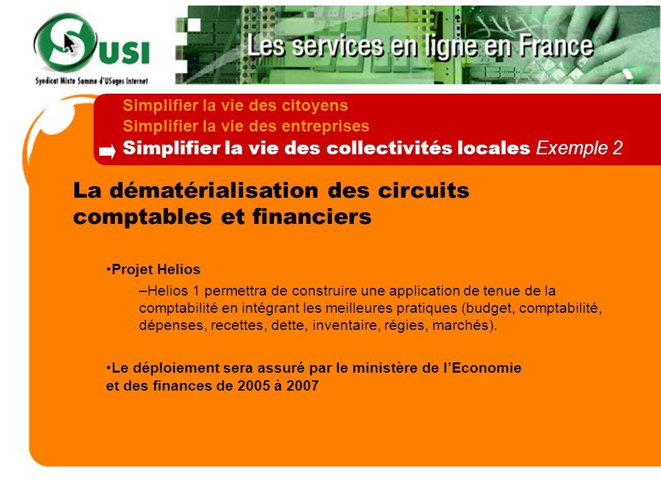 La dématérialisation des circuits comptables et financiers
