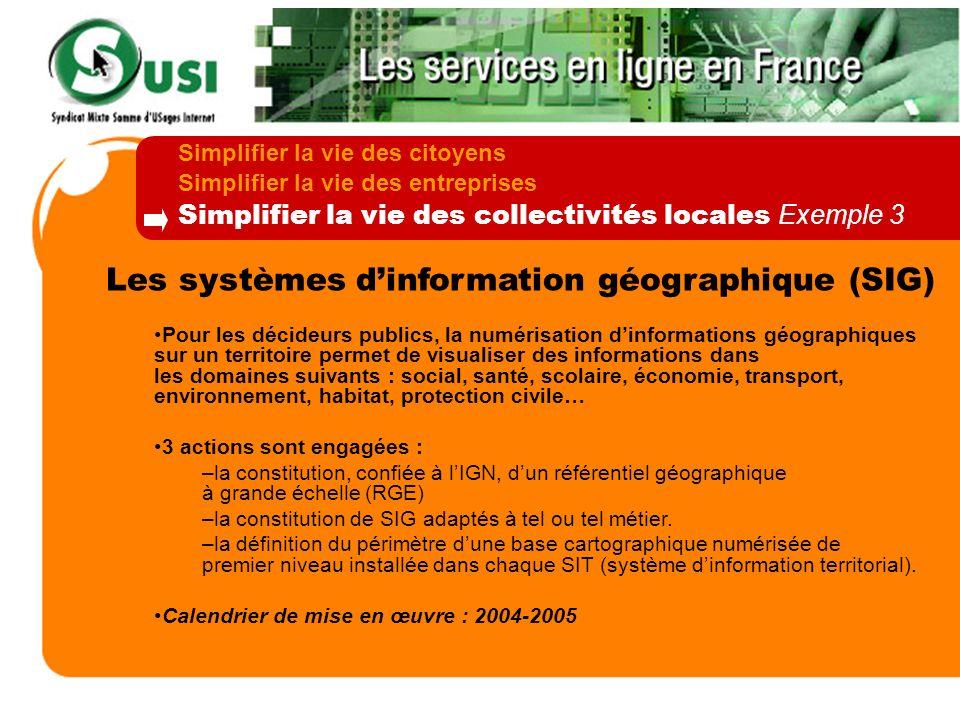 Les systèmes d'information géographique (SIG)