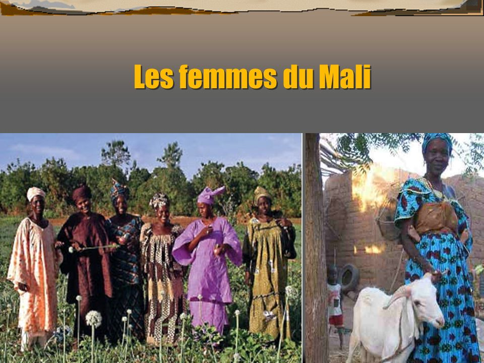 Les femmes du Mali