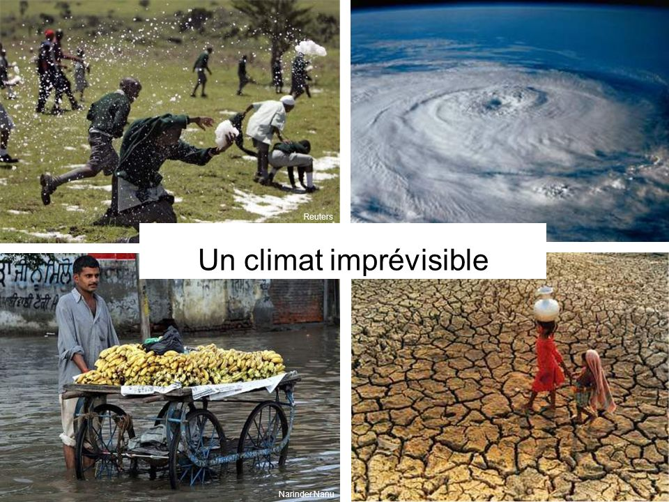 Un climat imprévisible