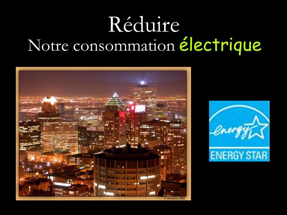 Notre consommation électrique
