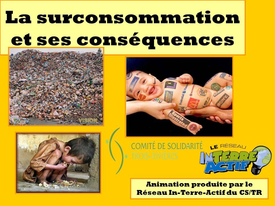 La surconsommation et ses conséquences