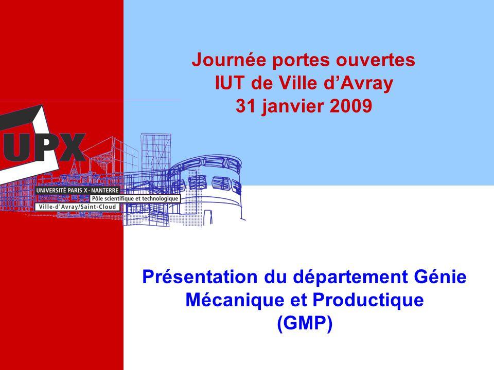 Journée portes ouvertes IUT de Ville d'Avray 31 janvier 2009
