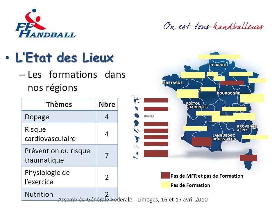 Assemblée Générale Fédérale - Limoges, 16 et 17 avril 2010